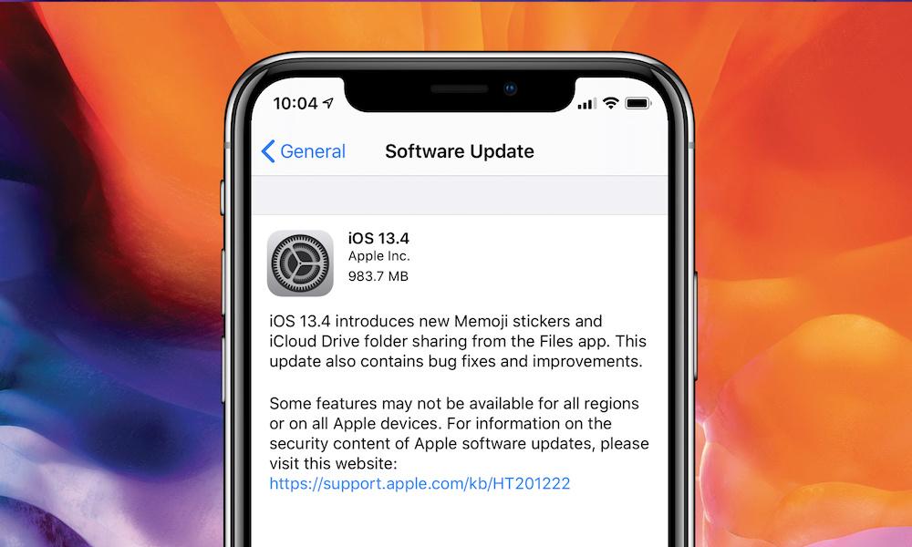 Apple rilascia iOS 13.4 per tutti gli utenti